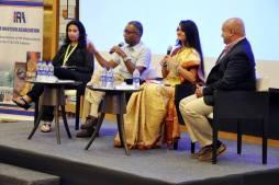 Moderating panel at HRIA, Meluha , Mumbai
