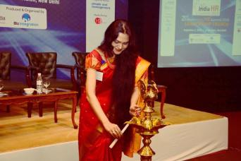 Inaugurating India HR Summit 2016 at Le Meridian , New Delhi