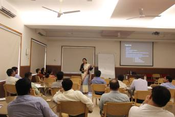 Delivering Faculty Management Program at Ramagiri Business School, Cochin