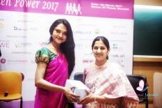 Felicitating Tejas Parulkar, Co-Founder Saffron Stays